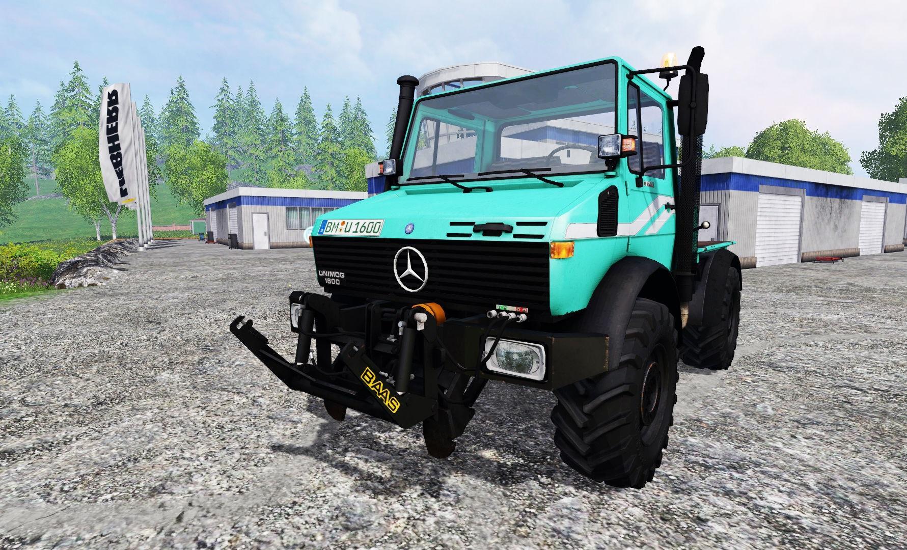 Mercedes Benz Unimog U1600 Truck Farming Simulator Modification