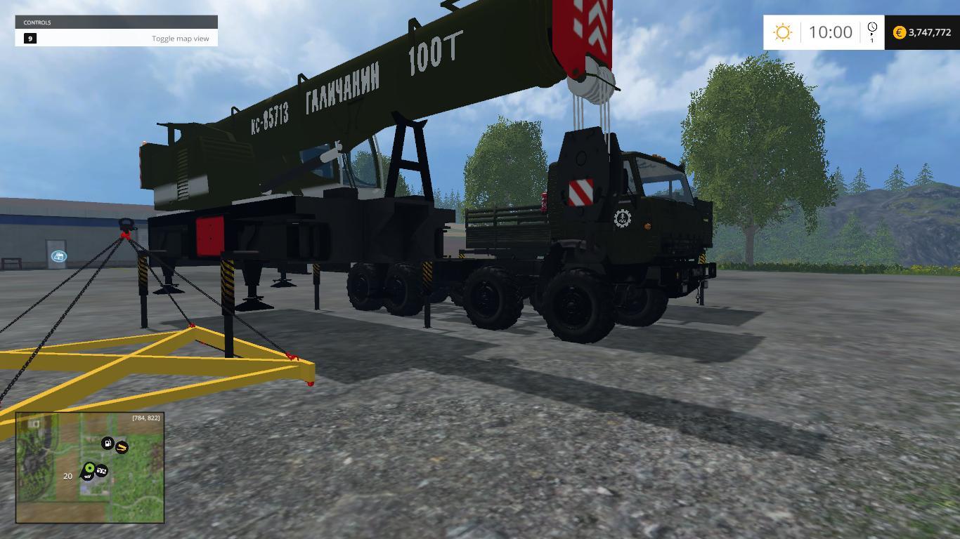 Kamaz Crane Pack v1 0 - Farming simulator modification - FarmingMod com