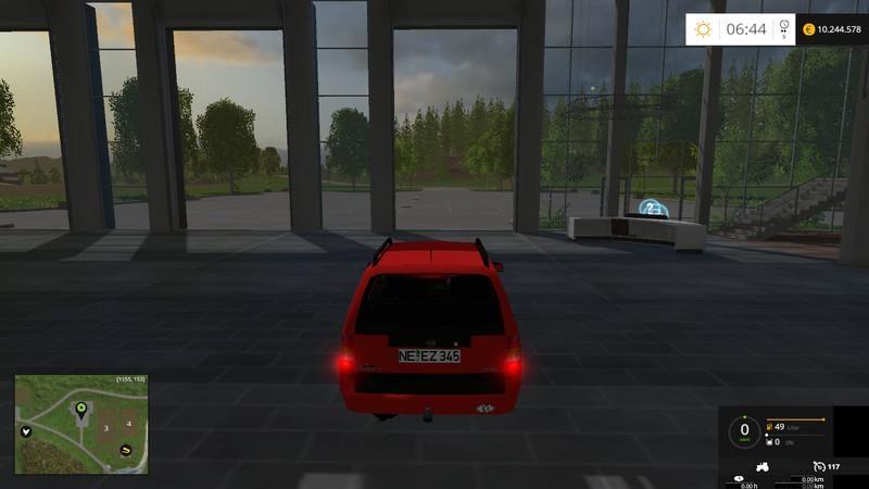 Opel Astra F Caravan 1 7 TD Club v4 0 Update - Farming simulator