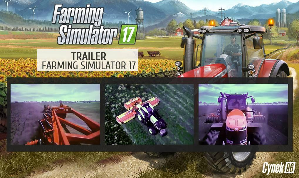 FS2017 Trailer will be released Today! - Farming simulator