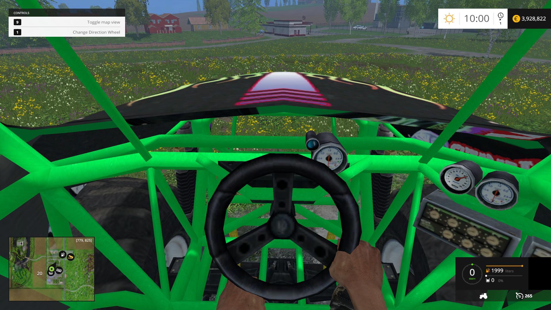 Monster Truck Fans 2015 - Farming simulator modification
