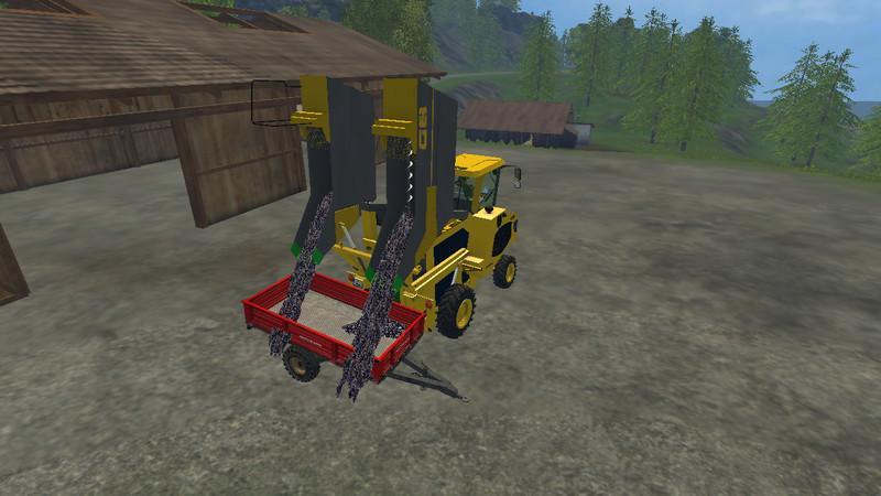 Gregoire G8 260 Grape harvester v0 96 - Farming simulator