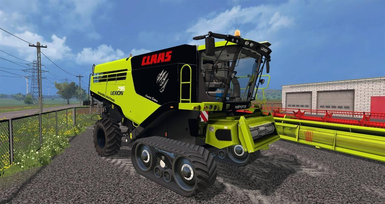 Berühmt Claas Lexion 795 v1.0 - Farming simulator modification &MN_23