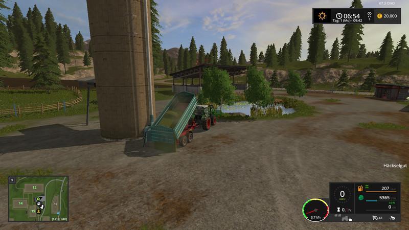 SILAGE SILO UPK V0 5 - Farming simulator modification