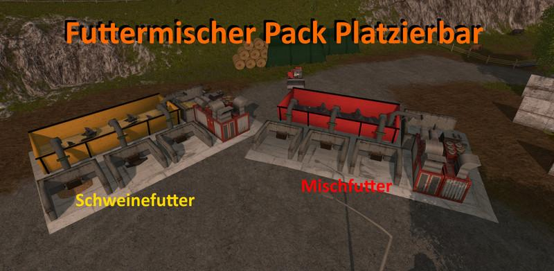 FEED MIXER PACK PLACEABLE V1 0 - Farming simulator
