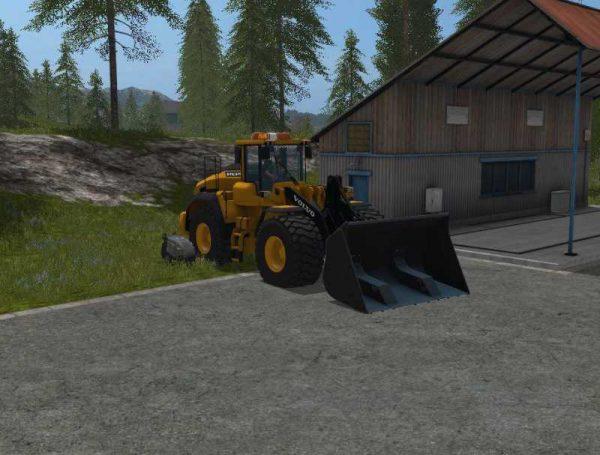 volvo 220h farming simulator 17 v1 0   farming simulator