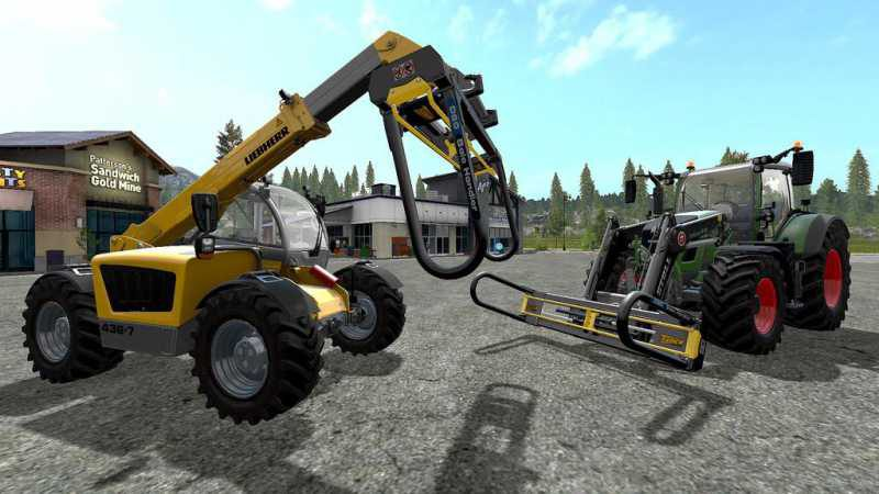 TANCO D80 BALE STACKER V1 0 - Farming simulator modification