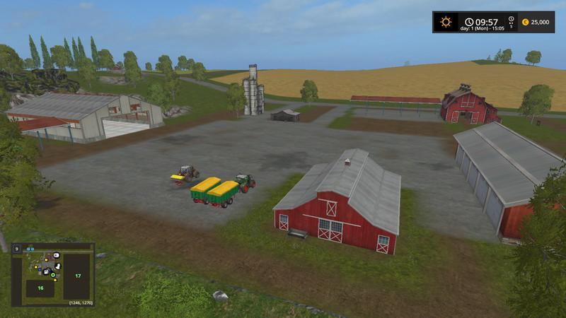 WESTBRIDGE HILLS 5 V2 0 - Farming simulator modification