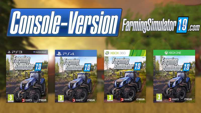Farming Simulator 19 game on PC,PS4,Xbox - Farming simulator