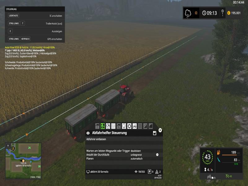 COURSEPLAY COURSES RETRACTED ON NORGECRESTVALLEY - Farming