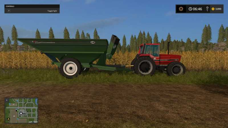 International Harvester 5488 Pack V10 Farming Simulator