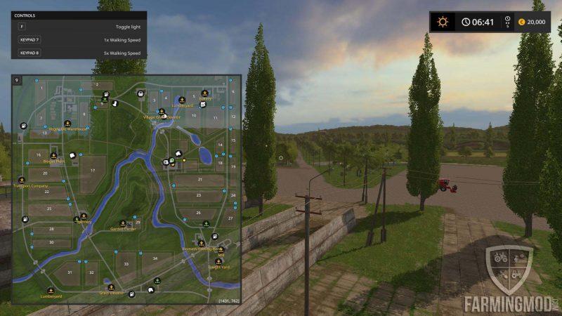 SOSNOVKA FLATTEN MAP V1 0 - Farming simulator modification