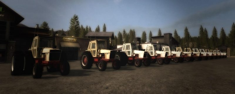 OLD IRON CASE 70 SERIES TRACTOR V1 0 - Farming simulator