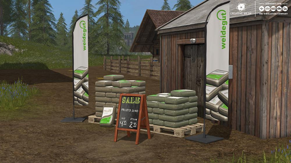 ADD-ON STRAW HARVEST V1 0 - Farming simulator modification
