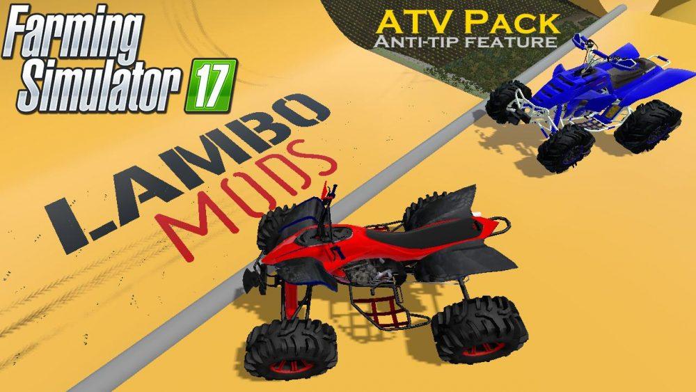 ATV RACING PACK | RAPTOR & BANSHEE V1 0 0 1 - Farming
