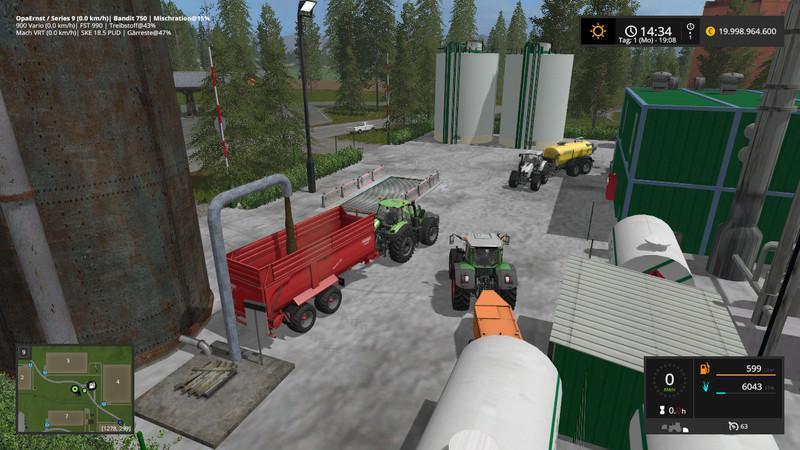 Bio-diesel farming thesis