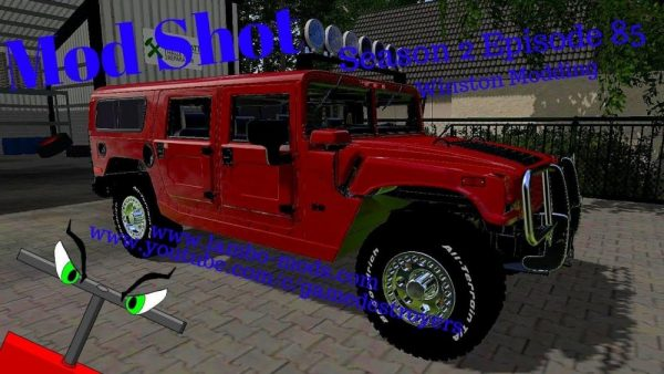 Hummer H1 Alpha V1 0 Farming Simulator Modification Farmingmod Com