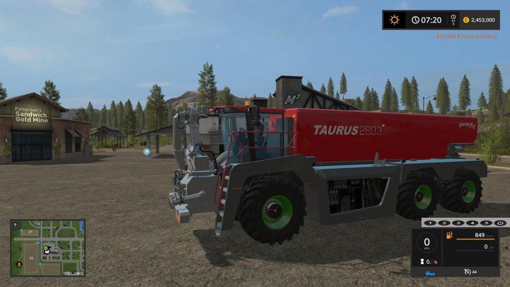Kotte Garant Taurus 2803 V10 Farming Simulator Modification