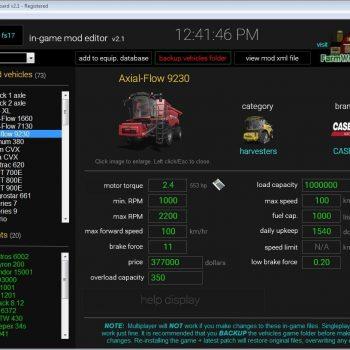 DASHBOARD V2 1 - Farming simulator modification - FarmingMod com