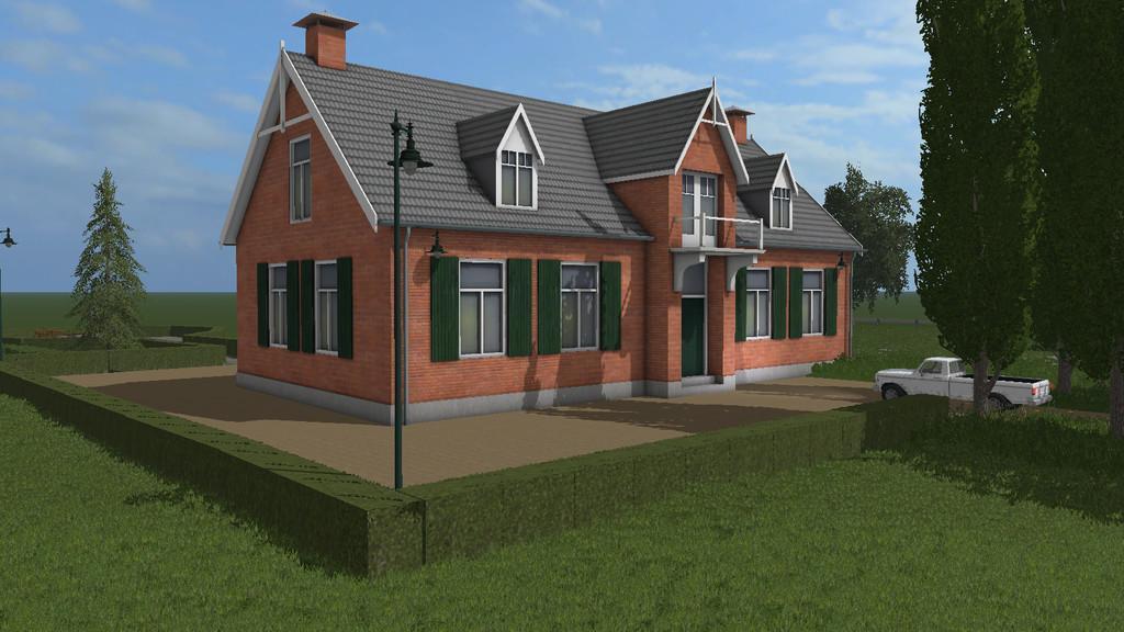 Luxury house prefab v1 0 0 0 farming simulator for Luxury home descriptions