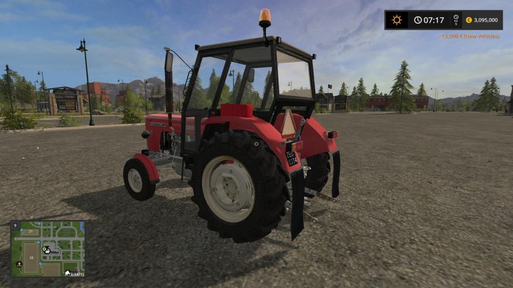 URSUS C-360 3P V1.0.0.0 - Farming simulator modification - FarmingMod.com