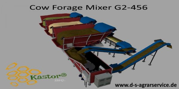 COW FORAGE MIXER G2-456 V1 0 - Farming simulator