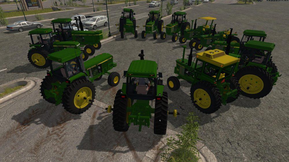 OLD IRON JOHN DEERE PACK V2 0 - Farming simulator modification