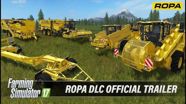 FARMING SIMULATOR 17 ROPA DLC OFFICIAL TRAILER - Farming simulator