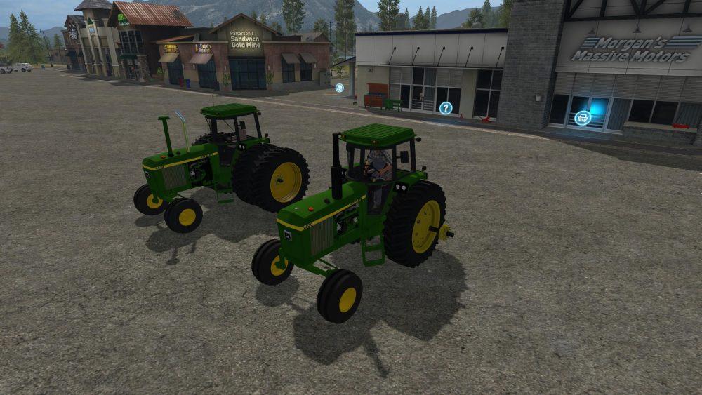 john deere 30 series 2wdfwa v30 • farming simulator