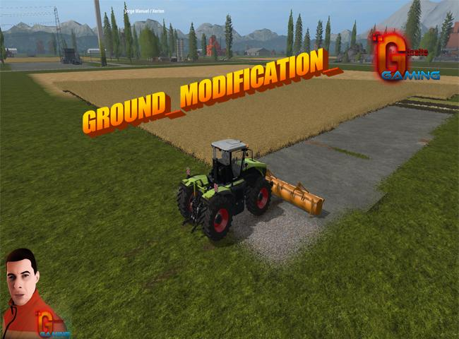 GROUND MODIFICATION 10 METER V1 0 - Farming simulator