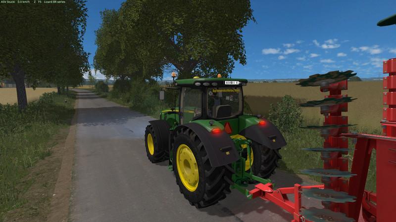 MR JOHN DEERE 8R NEW V2 3 0 - Farming simulator modification