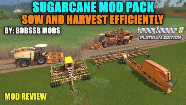 SUGARCANEPACK V1 0 - Farming simulator modification - FarmingMod com