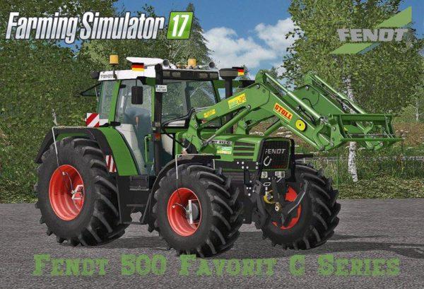 FENDT 500 FAVORIT C SERIES FINAL - Farming simulator modification
