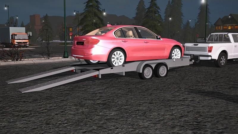 Hapert Car Transport Trailer V1 0 Farming Simulator Modification