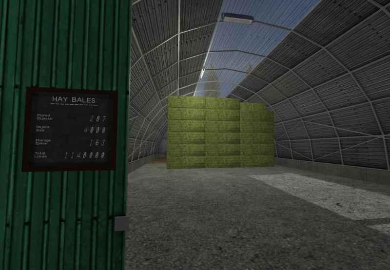 LARGE SQUARE/COTTON BALE STORAGE V1 0 1 0 - Farming simulator