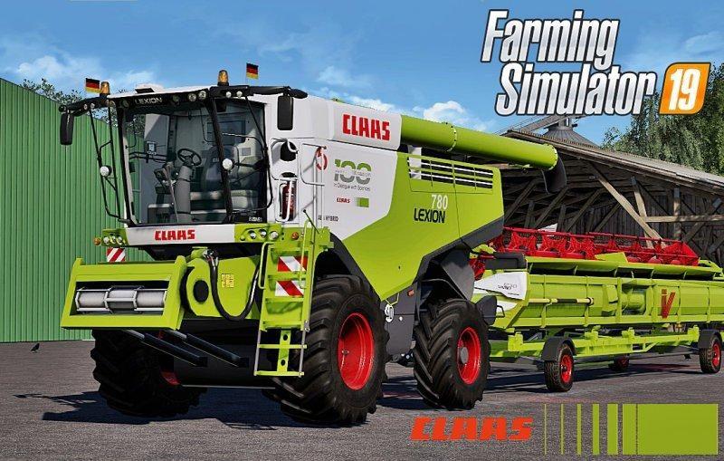 CLAAS LEXION 780 FULL PACK V2 0 - Farming simulator