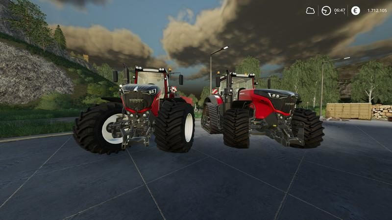 FENDT VARIO 1000 - METALLIC FIX V1 1 - Farming simulator
