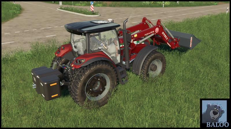 STARA - ST MAX 180 WITH FRONT LOADER V2 0 - Farming