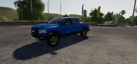 dodge-ram-1500-blue-flashing-beacon-v1-0_1