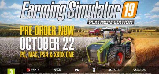 FS19 News | Farming simulator 2019 game news - farmingmod com