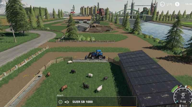 FS19 RICCIVILLE V1 3 0 0 - Farming simulator modification