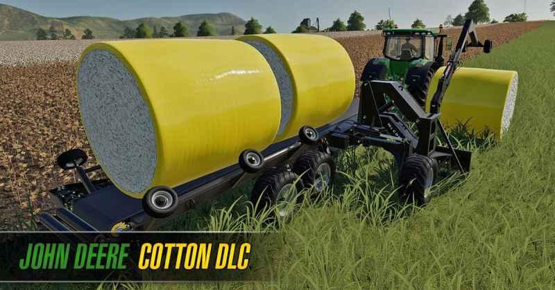 JOHN DEERE COTTON DLC (DOWNLOAD ONLY) V1 0 0 0 - Farming simulator