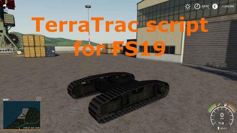 TERRATRAC SCRIPT V1 0 - Farming simulator modification