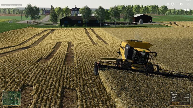CLAAS LEXION V1 0 - Farming simulator modification - FarmingMod com