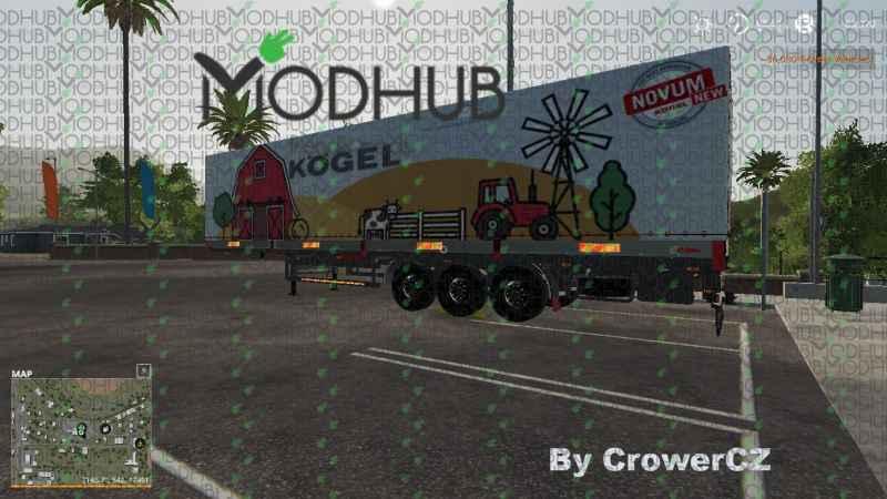 FARMING KOGEL AUTOLOADER V1 0 - Farming simulator