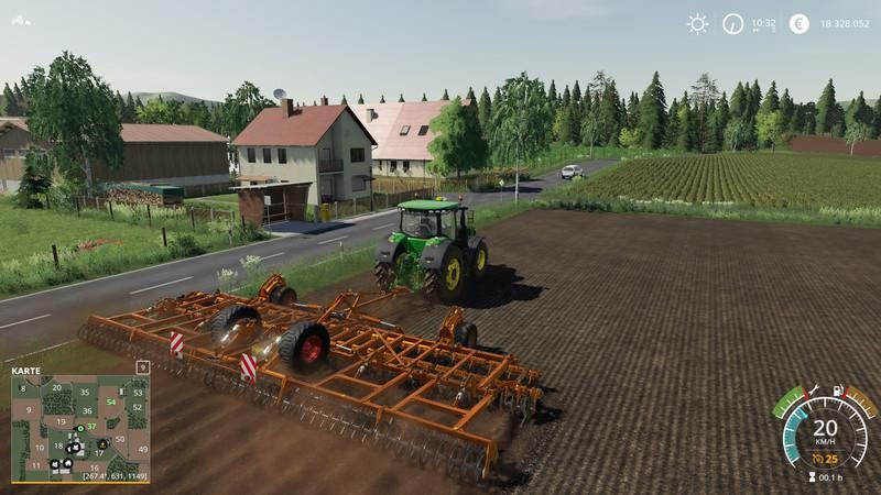 HORSCH JOKER 12 RT PLOW FS19 V1 1 - Farming simulator modification