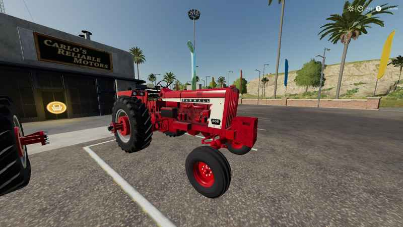 Rain Guards For Trucks >> FARMALL 806/706 V1.0 - Farming simulator modification ...
